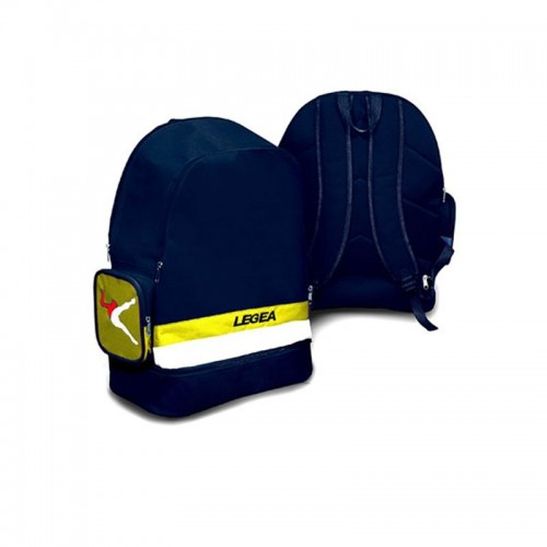 Legea Backpack Zaino Caprera Blue-Yellow
