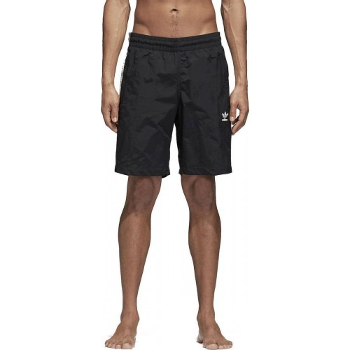 Adidas 3-Stripes Swim Black