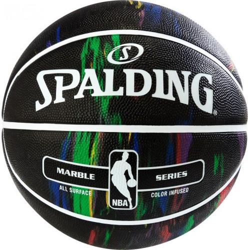 Spalding NBA Marble Series Rainbow