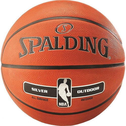 Spalding NBA Silver Outdoor