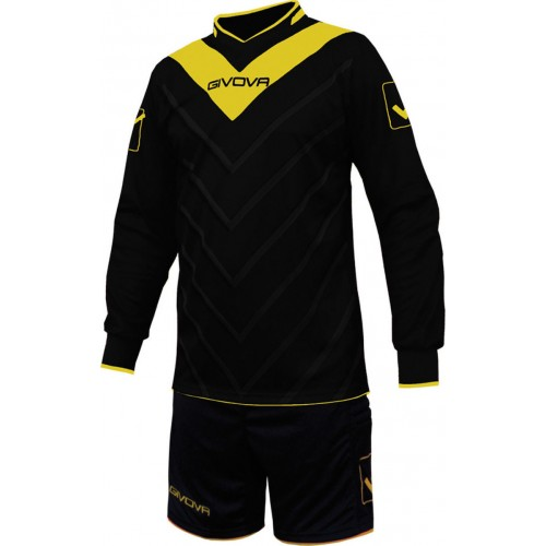 Givova Kit Sanchez Black/Yellow