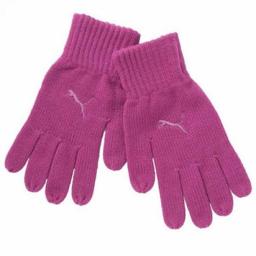 Puma Fundamentals Knit Gloves Rose Violet