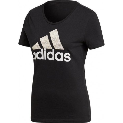ADIDAS  FOIL TEXT BOS