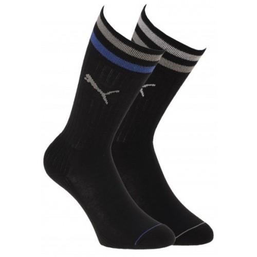 Puma Socken Unisex Μαύρο (2 ζευγάρια)