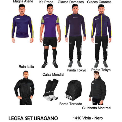 Legea - Set/Box Uragano
