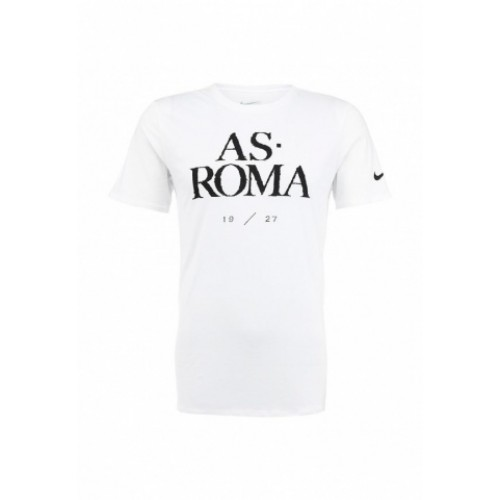 Nike AS Roma Core Type Tee (White)