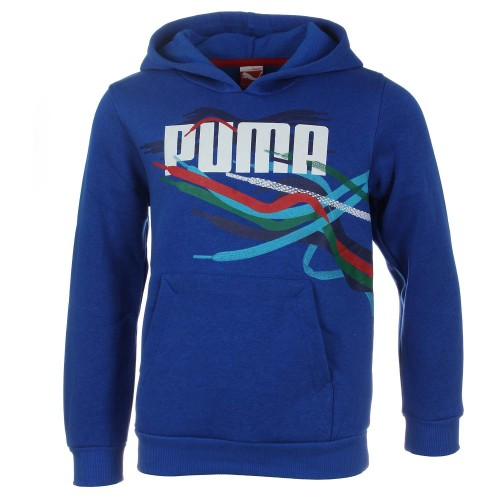 Puma Lace Hooded Sweat Μπλε
