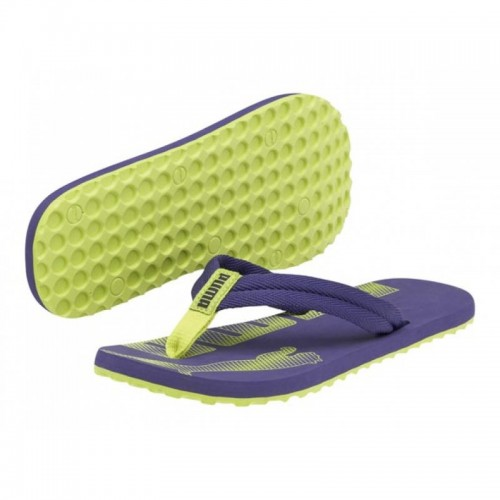Puma Epic Flip Jr blue -lime- puncn